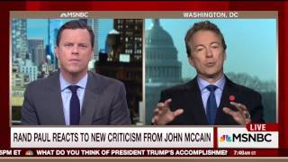 Video Rand Paul Fires Back at McCain: 'He's Unhinged, Makes a Strong Case For Term Limits' download MP3, 3GP, MP4, WEBM, AVI, FLV November 2017