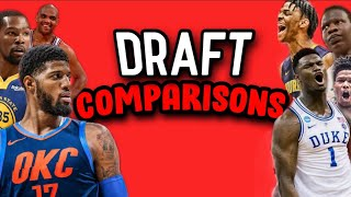 Official 2019 NBA Draft Comparisons!