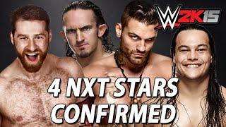 WWE 2K15: Corey Graves, Sami Zayn, Adrian Neville & Bo Dallas Confirmed