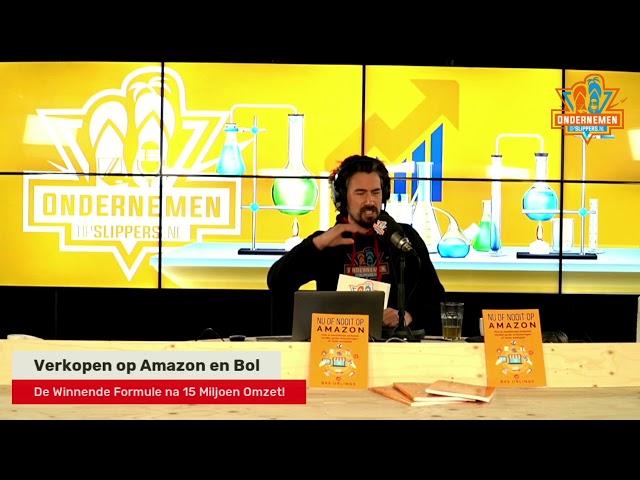 Slippertje 45: Masterclass verkopen op Amazon & Bol.com met Bas Urlings