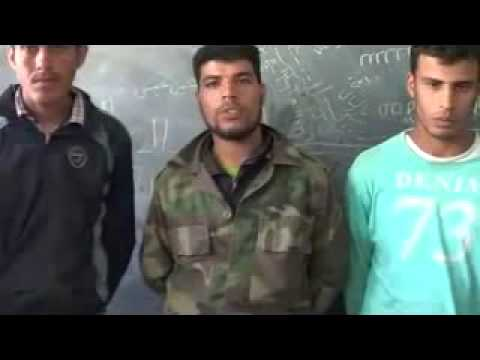 the treatment of Syrian Soldiers in 93th Brigade ar raqqa 9 4