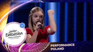 Poland 🇵🇱 - Ala Tracz - I'll Be Standing at Junior Eurovision 2020