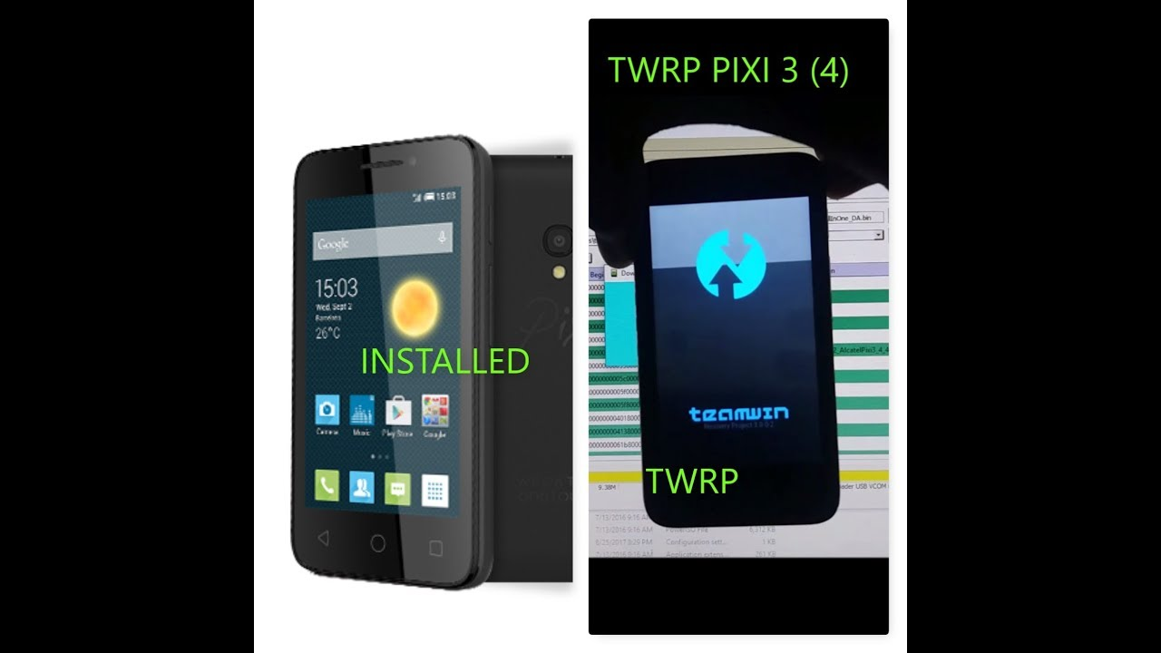 Install TWRP On Alcatel Devices   MTK