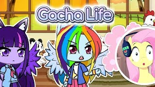 Fluttershy REACTS to GACHA LIFE VIDS 🍉 (WITH FACECAM!)