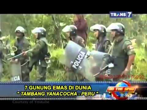 On The Spot - 7 Gunung Emas di Dunia