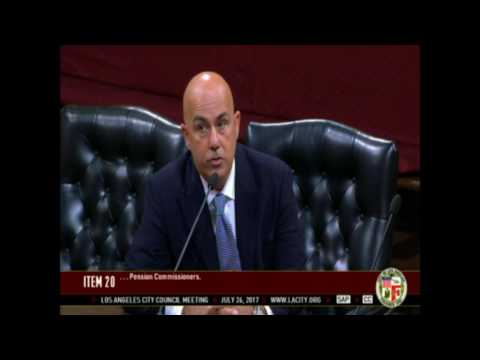 Los Angeles City Council Meeting 2017