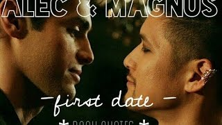 malec first date    book quotes
