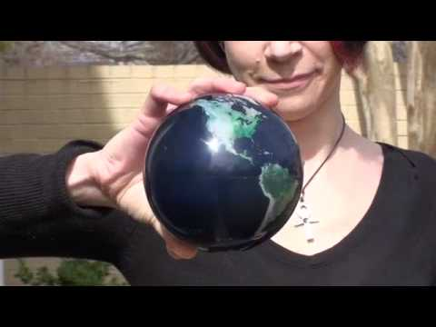 Magic Spinning Globe from ThinkGeek
