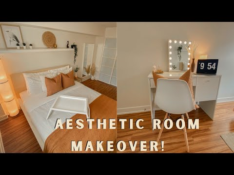 aesthetic-small-room-transformation-tour-(on-a-budget)-*pinterest/tiktok-inspired*