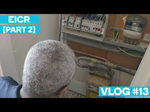 EICR [Part 2] Picking Up After A Tradesman/Customer Dispute -  Electrician In London Vlog #13