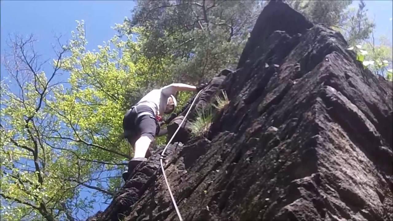Klettersteig Wolkenstein : Wolkenstein dav Übungsgelände youtube