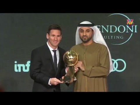 Success for FC Barcelona and Leo Messi at the Global Soccer Awards