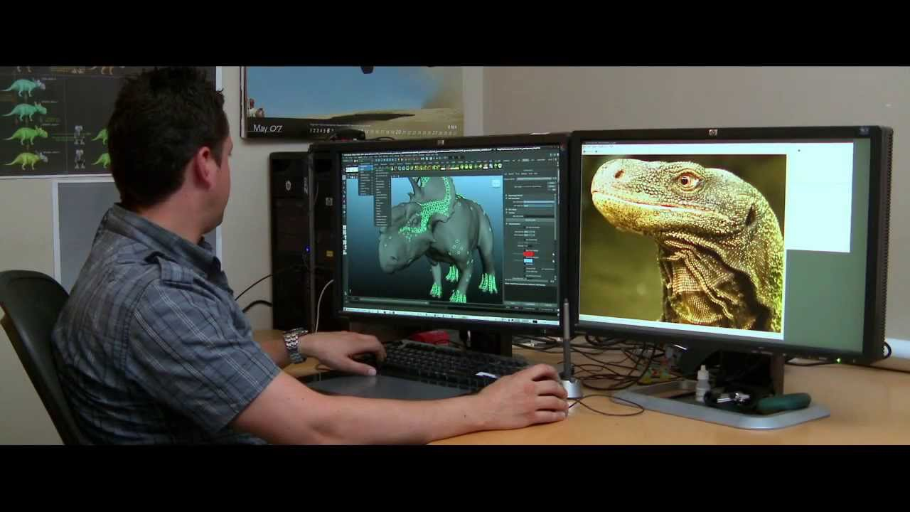 Walking With Dinosaurs 3d 2014 Behind The Scenes Youtube