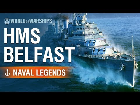 [World of Warships] Naval Legends: HMS Belfast
