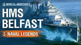 [World of Warships] Naval Legends: HMS Belfast