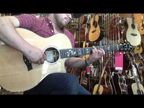 Taylor 914ce demo by Jonny Moody at the Guitar Store in Southampton. www.gtrstr.com