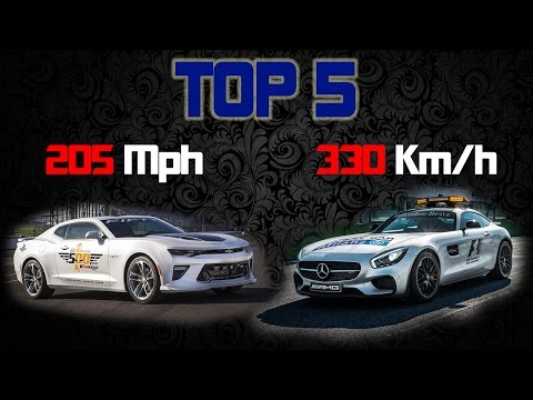 TOP 5 Fastest Safety Car and Pace Car of 2016