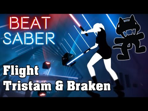 Beat Saber - Flight - Tristam & Braken [Monstercat] (custom song) | FC