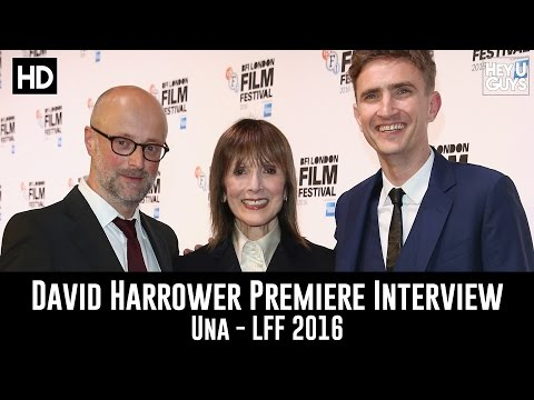 Writer David Harrower LFF Premiere Interview - Una