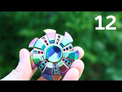 12 КРУТЫХ СПИННЕРОВ из КИТАЯ / Finger Spinner GEARBEST + КОНКУРС