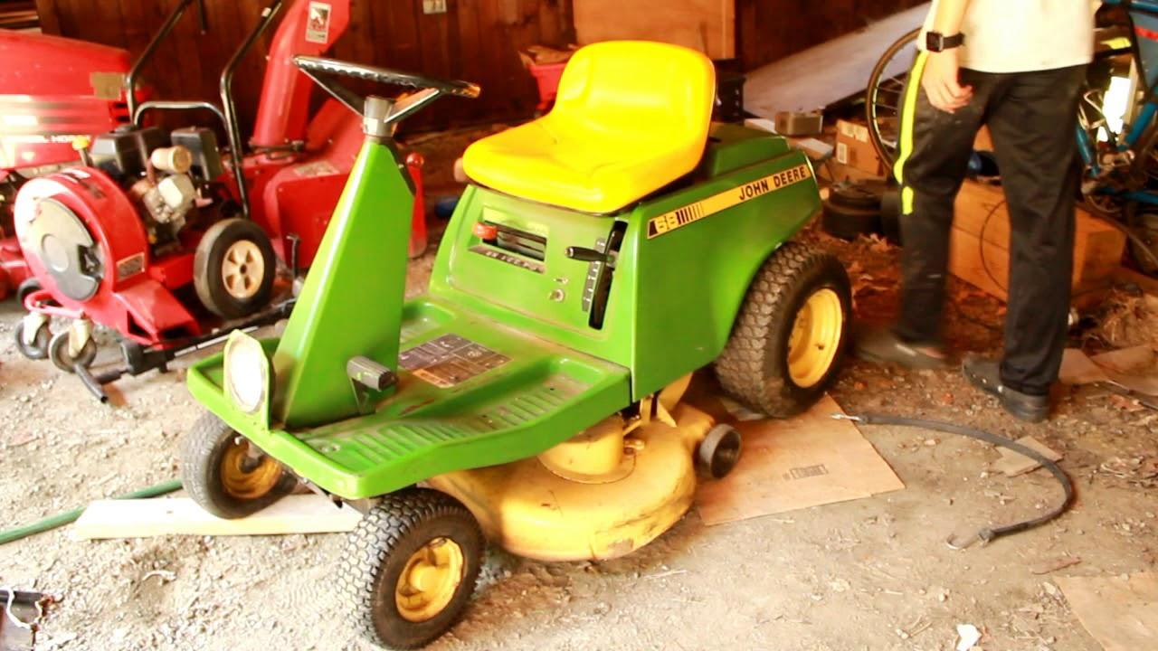 50 Riding Mower Will It Run John Deere 68 Youtube