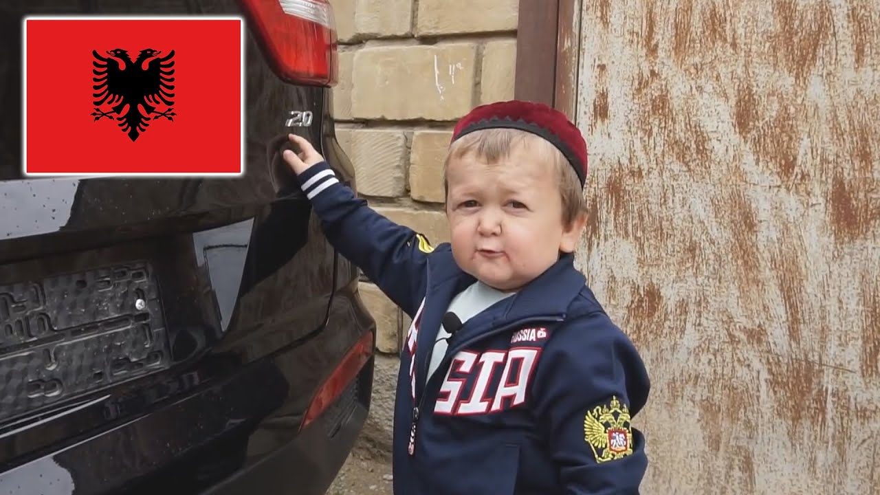 Wenn Hasbulla Albaner wäre... 😂| Wie er in Kosovo lebt! 😂