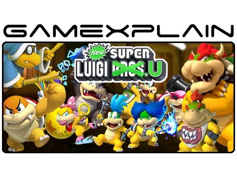 All 18 Boss Fights: Boom Boom, Kamek, Koopaling, Bowser Jr, & Bowser in New Super Luigi U