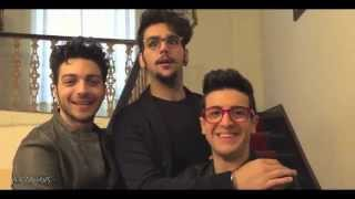 Il Volo interview to Luca Bianchini