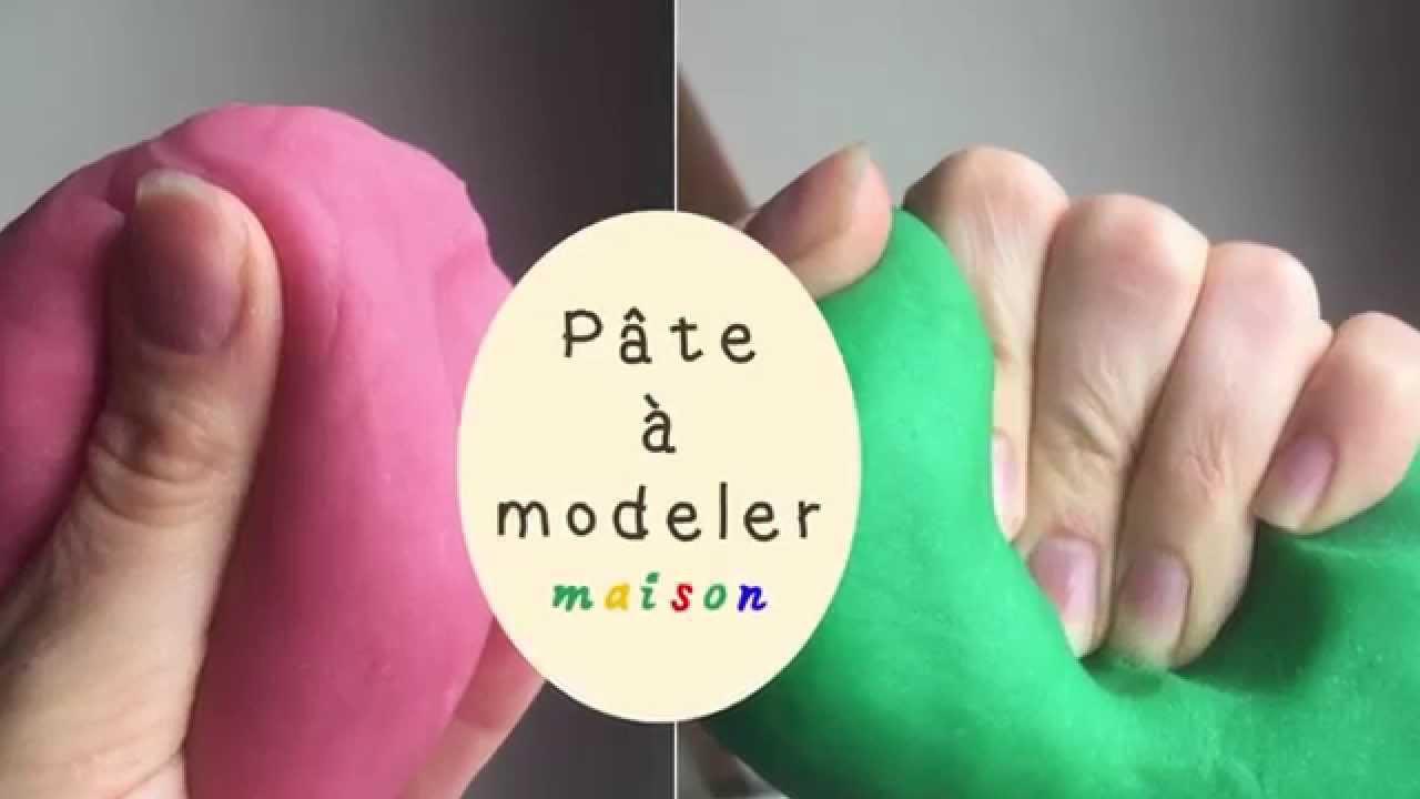 Comment faire de la pâte à modeler maison comme le Play Doh du magasin? - YouTube