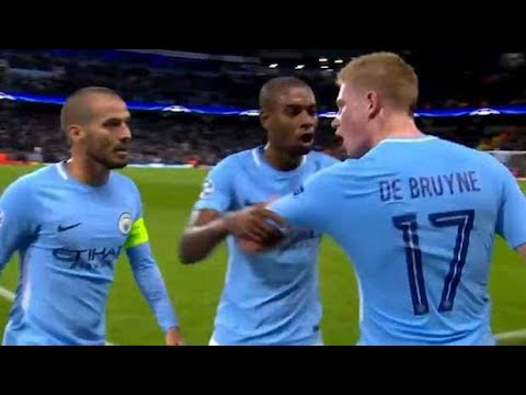 Download Manchester City player 'De Bruyne Angry To David Silva. Anybody know?!!