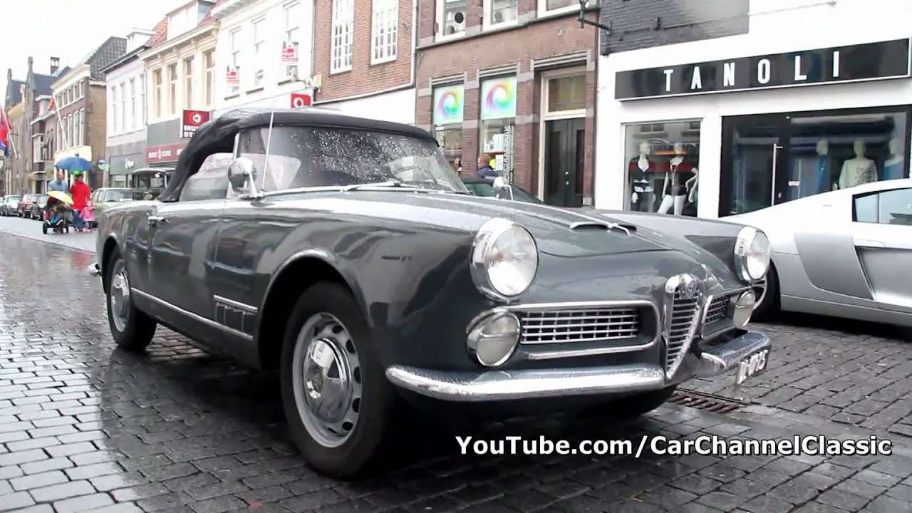 Alfa Romeo 2000 Touring Spider Lovely Sound Drive By