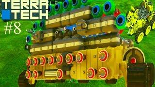 TerraTech#8 Игровой мультик про боевые машинки конструируется как лего. Машины. танки. самолеты.(Продолжение 8 серия Битва с охотником за головами.Собираем припасы. Развиваем улучшаем базу , уничтожаем..., 2016-10-29T08:00:02.000Z)