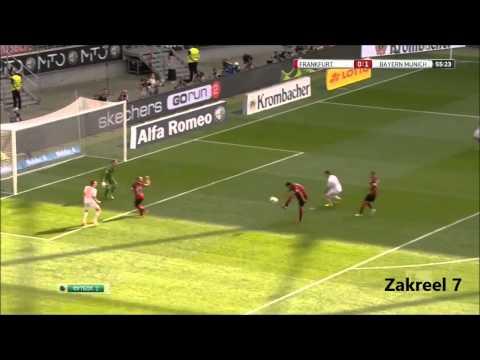 Bayern build up play