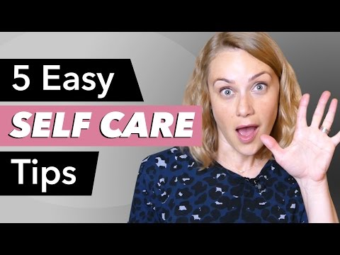 Your Self Care in 5 Easy Steps!