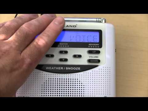 How To:  NOAA Weather Radio Set Up