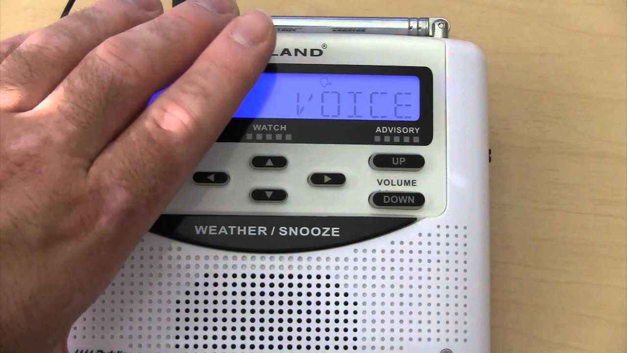 What is NOAA Weather Radio and Reasons Why You NEED One!