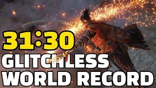 GLITCHLESS World Record Sekiro Speedrun in 31:30