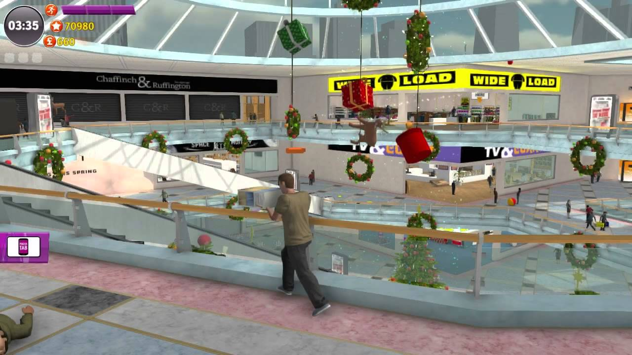 Christmas Shopper Simulator (PC) walkthrough - YouTube