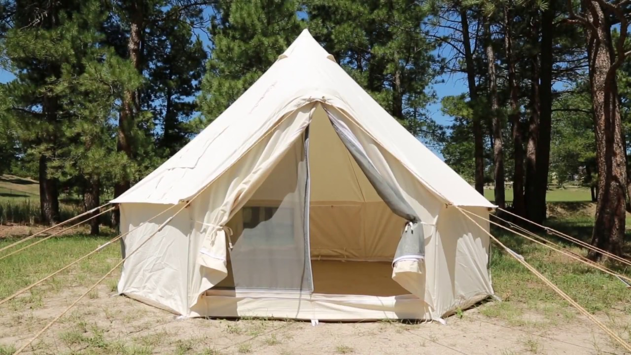 Maroon Bell Tent by Denver Tent Company & Maroon Bell Tent by Denver Tent Company - YouTube