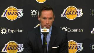 NBA: Steve Nash: Retirement Press Conference