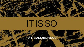Download It Is So | Official Lyric Video | At Midnight | Elevation Worship Mp3 and Videos