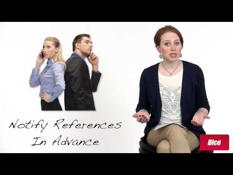 How to Choose Job References