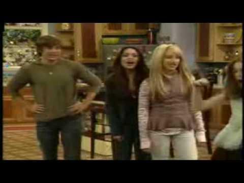 Cast of High School Musical on Hannah Montana