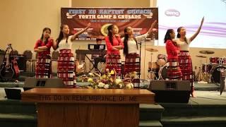 Myanmar Action Song- Bossier Khangno te