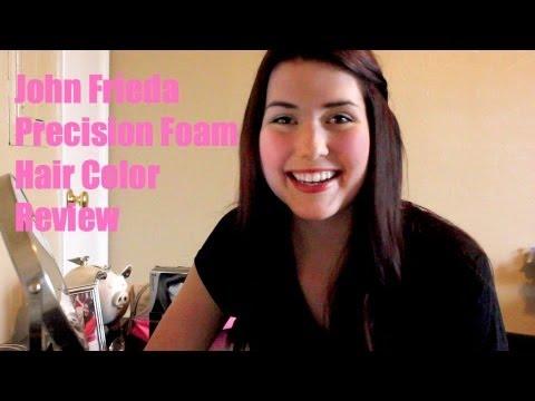 John Frieda Foam Hair Color Quick Review Youtube