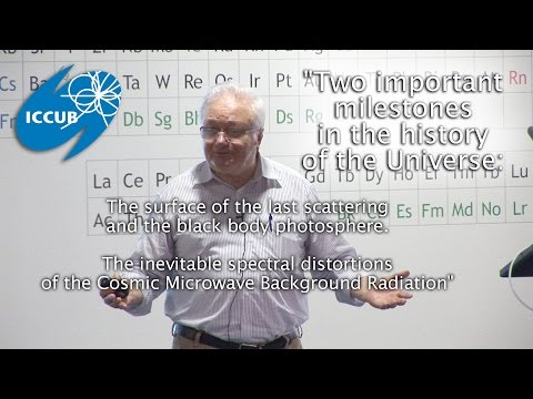 """""""Two important milestones in the history of the Universe"""" by Rashid Sunyaev"""