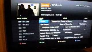 Humax HD-FOX T2 Freeview HD- Used for Saorview - Part1