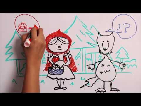Красная шапочка и волк . сказки . детей .