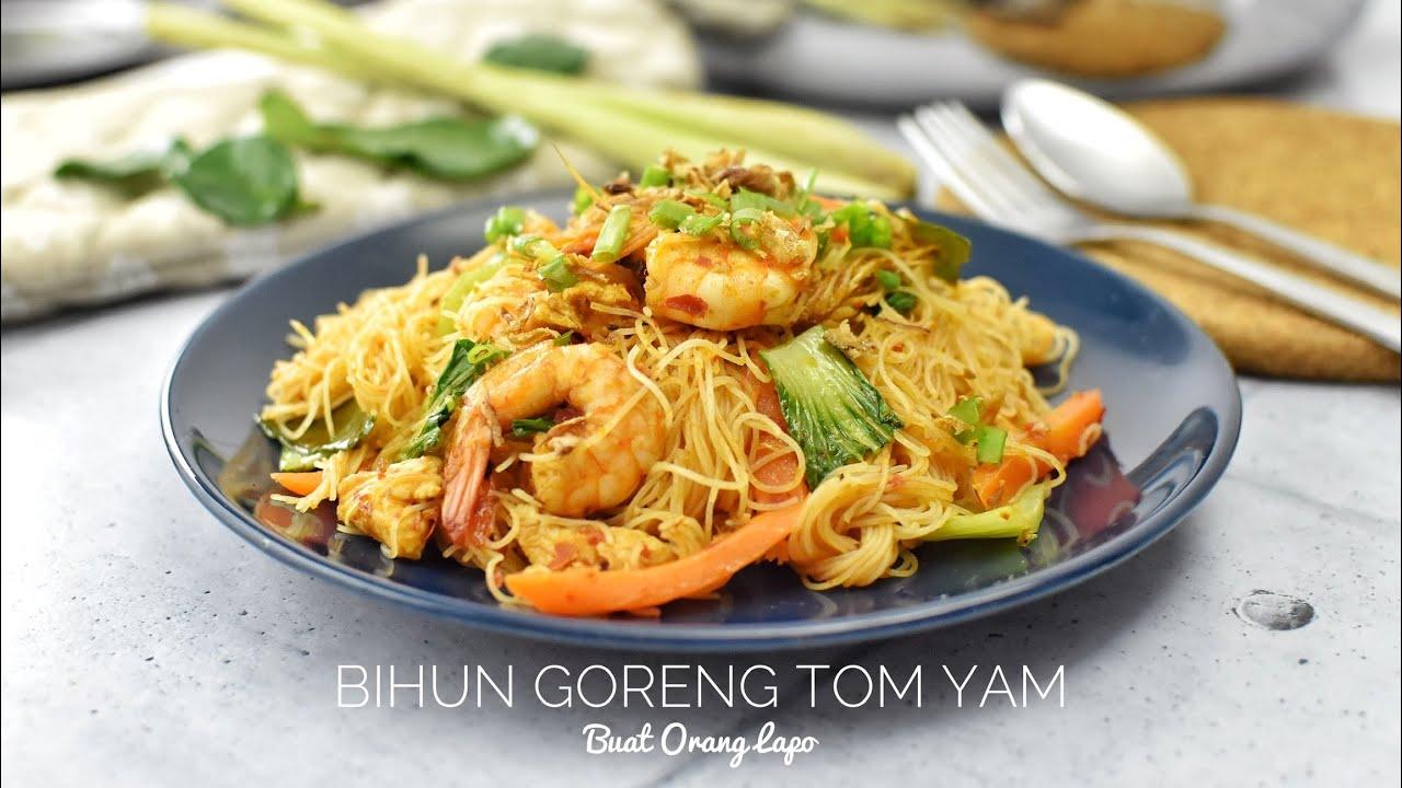 Bihun Goreng Tom Yam Sedap - YouTube