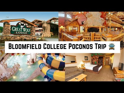 Bloomfield College Great Wolf Lodge Poconos Trip 2K17 | Thee Mademoiselle VLOGS ♔